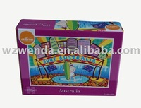 (2010 fty supplier) educational gift game jigsaw puzzle for kids