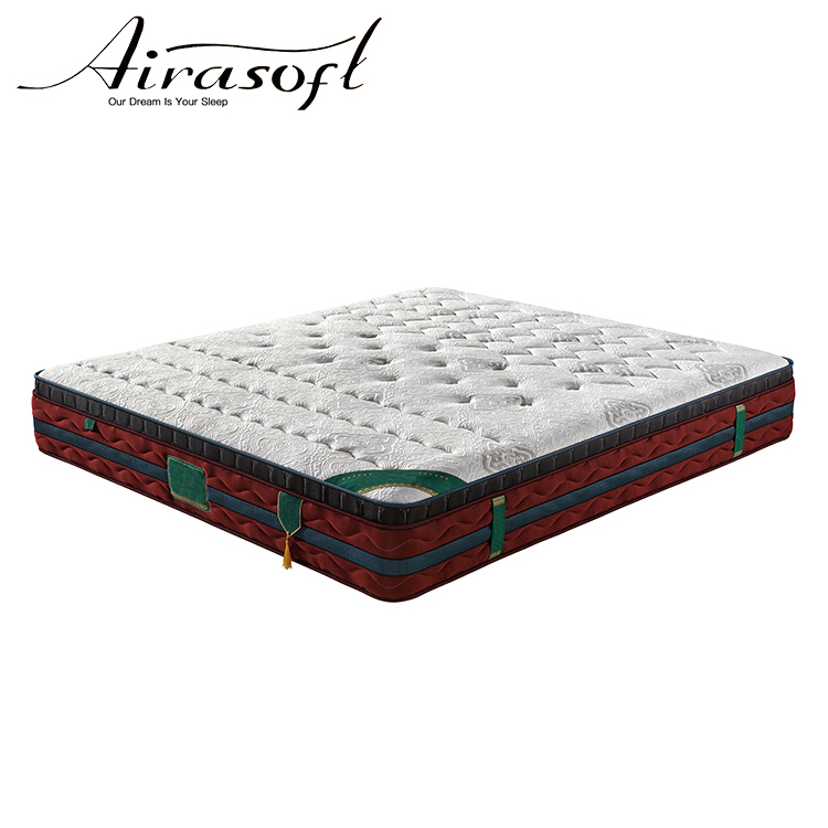 Latex Pocket Spring King Size Gel Memory Foam Mattress With White Color - Jozy Mattress | Jozy.net