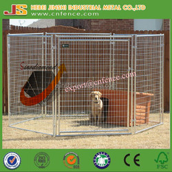 1.5x1.8m welded wire panelx6 Australian standard Large outdoor galvanised welded pet enclosure/dog kennels & dog cage & dog runs