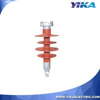Wenzhou Yika IEC 10KV Electric Insulator Pin Silicon Rubber Polymer Composite