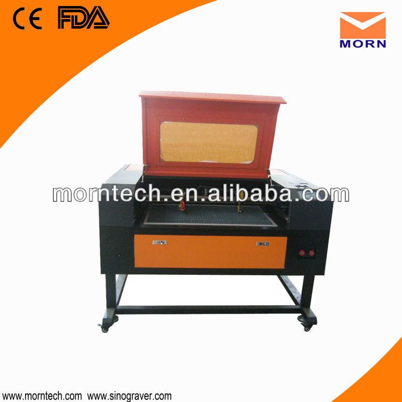 Multi heads wood laser engraving machine
