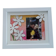White Black Plastic Photo Picture Frame Home Images Picture Frames