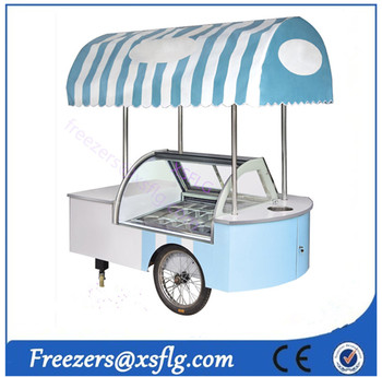 ice cream carts / gelato car / ice cream freezer (CE approvaled)