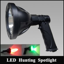 NEW Rechargeable LED Handheld emergency Spotlight,Extreme Outdoor sports hunting light portable rescue lamp
