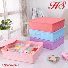 15grids socks organizer with lid socks storage box
