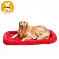 New design red or dark blue soft pet large mattress