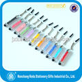 2014 mini sizeB eautiful colorful crystal touch pen