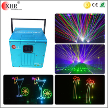 3000mw Colorful laser lighting effects rgb animation programmable laser light show