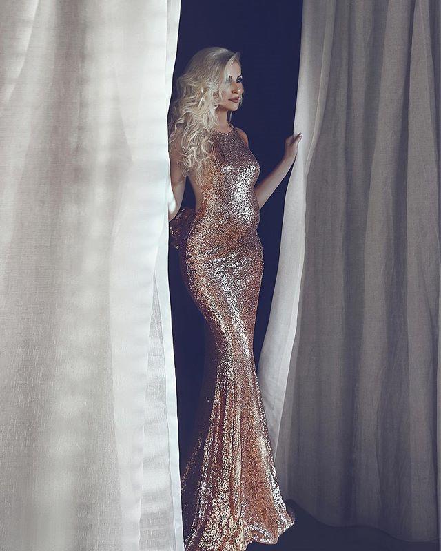 Sequin Party Dress Pregnant