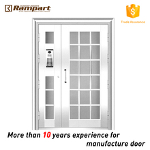 apartment main gate design stainless steel door of CE Standard