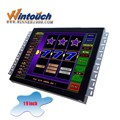 Wintouch 19inch casino game display monitor with tall bezel