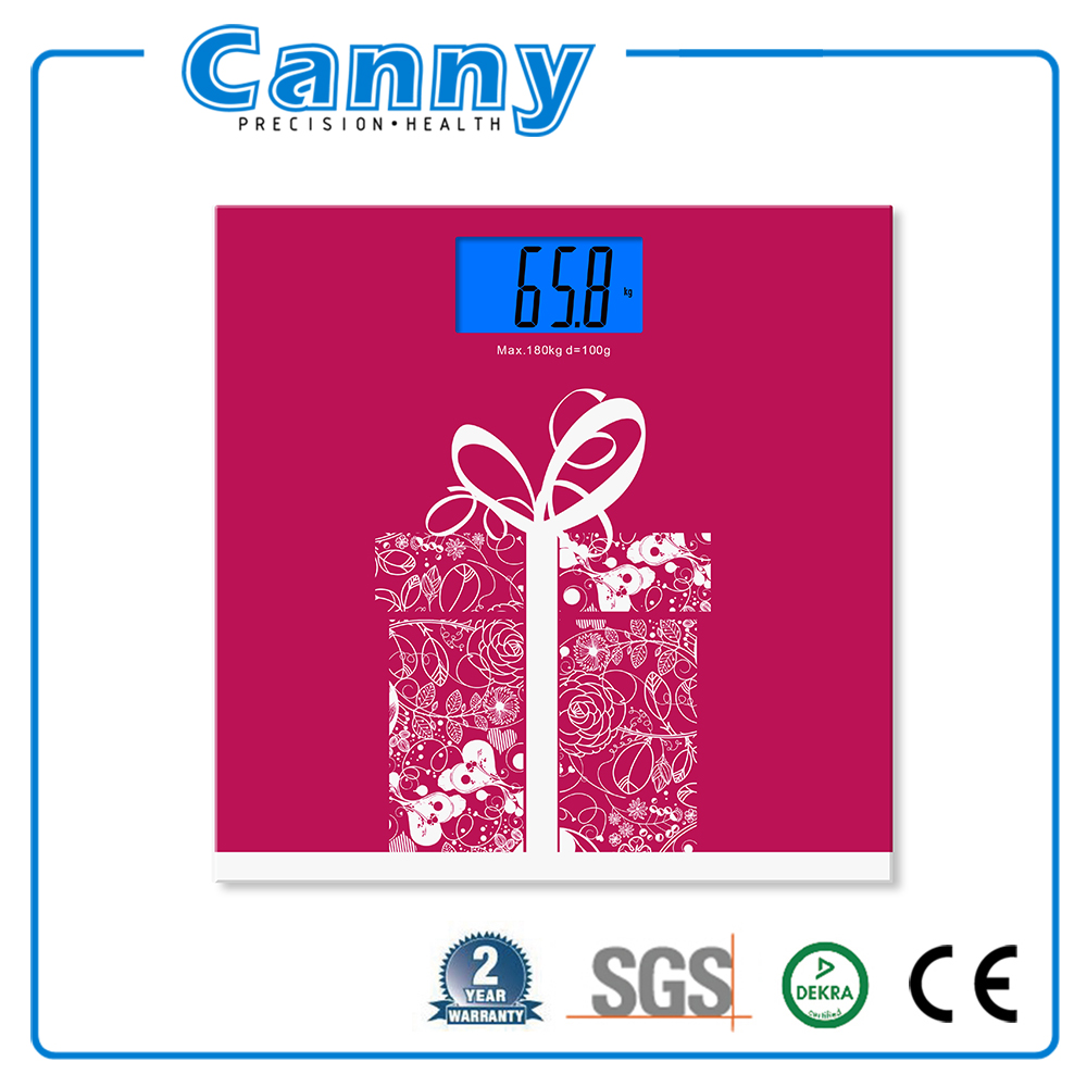 2017 new hot selling 2 years warranty CE RoHS ISO BSCI 180kg electronic balance bathroom scale