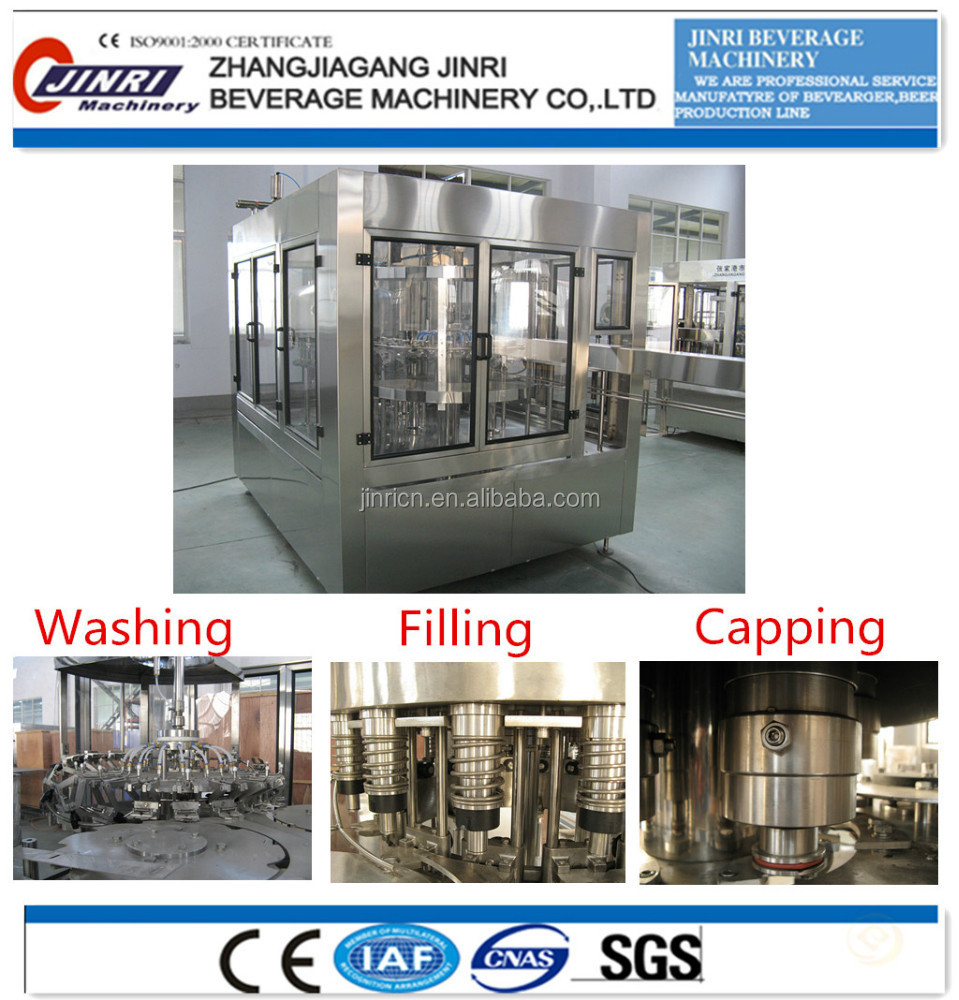 Mineral water filling packing machine
