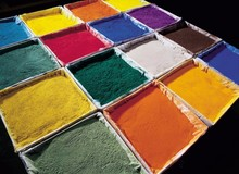 RAL Colors mirror gloss epoxy polyester powder paint
