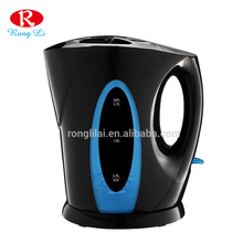 Hot sale Guangdong shenzhen home electrical appliance 1.7L cordless plastic electric kettle