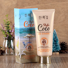 J4025 perfumed body sunscreen 200ml spf45 pa++ sunscreen lotion body lotion sun protection cream body whitening cream OEM