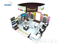 Shanghai trade fair, expo stand, portable display stand wall