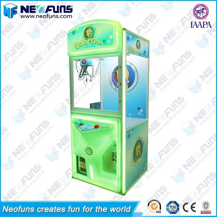 Best-Selling Baby Lion Colorful Lighting Star Crane Claw Machine