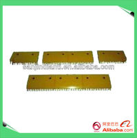 comb plate for LG escalator, escalator comb plate for sale