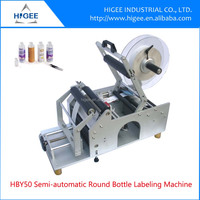 HG bottle label printing machine conical bottle label machine direct factory price