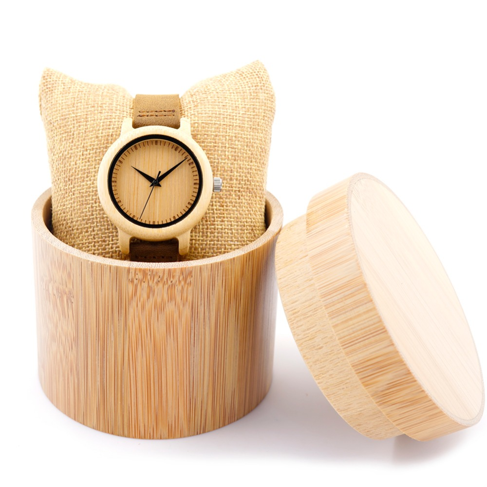 Handmade Bamboo Wood Watch For Men Custom Logo Watches Automatic