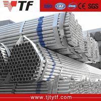China manufacturer Hot rolled hollow section round 4 inch gi pipe rate