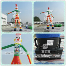 Clown two legs inflatable sky dancers toy for sale