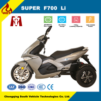 Hot sale high quality electric 3 wheel scooter for sale, Can be tilted control of the electric tricycle