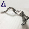 Titanium performance motorcycle exhaust pipe system