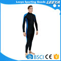 2017 wholesale top design polyester lycra fabric surfing Wetsuit for swimwear