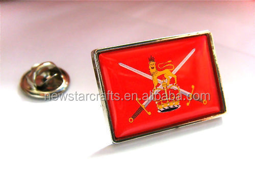 Personalized various ARMY FLAG LAPEL PIN BADGE GIFT