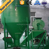 best quality animal feed grinding and mixing machine from china