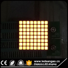 Customizesquare or round dots 8x8 rgb led dot matrix module