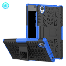 Factory wholesale hybrid cover soft tpu cell phone case for sony xperia l1 back shell