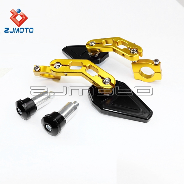 Motorcycle 7 8 Quot Bar End Mirrors Zjmoto Streetfighter
