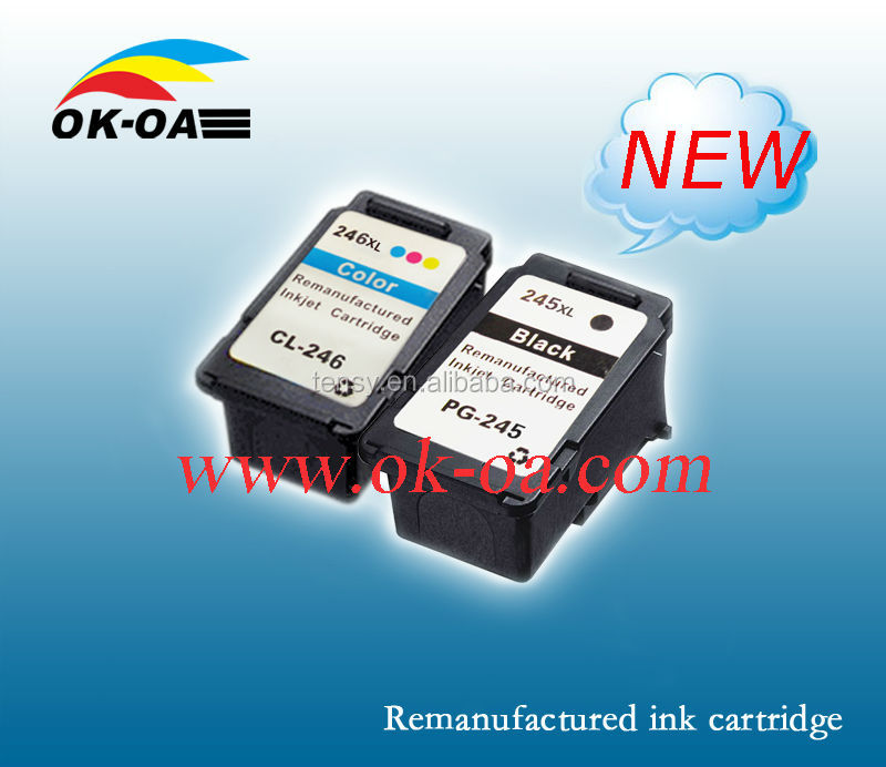 refill ink cartridge pg245 compatible for Canon printer ink jet cartridge