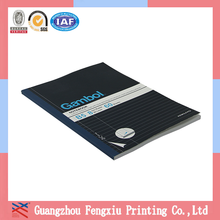 Printed Personal Organizer Cheap Square Lined A5 Paper Notebook