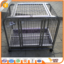 Low Moq cheap wooden folding dog crates