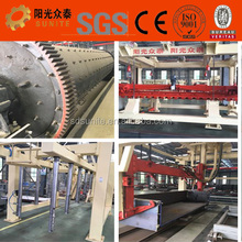 AAC (autoclaved aerated concrete) flyash / sand block production line , light concrete block machine , foam aac brick factory