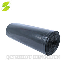 LDPE Black Heavy Duty Plastic Garbage Bags