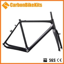 CarbonBikeKits top sales CFM827-V aerodynamic superlight special DI2 full monocoque Cycle Cross bicycle carbon Cycle Cross frame