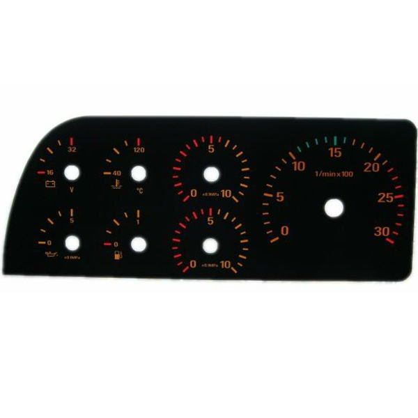 Combined Auto Dashboard Meter