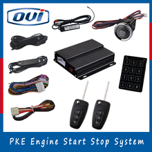 Push start button immobilizer rfid car anti theft system keyless entry auto alarms remote start