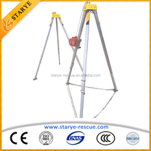 Good Sale Portable Streagth Saving Hand Winching Safety Tripod