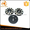 Low Noise 10 Triangle Segment Circle Metal Abrasive Shoes