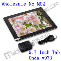 ONDA V973 Allwinner A31 Cheap 9.7 Inch Tablet Support Wifi 2 Camera G-sensor