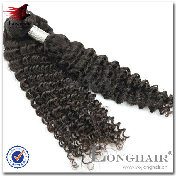 Virgin perfect curly fusion hair unprocessed human 5a virgin mongolian hair weft