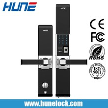 Professional Manufacturer Cheap Biometric Fingerprint Door Lock Unlocking With Fingerprint/ Card/ Code/ Key