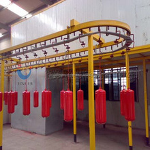 Paint Factory Production Line Powder Coating Line Price