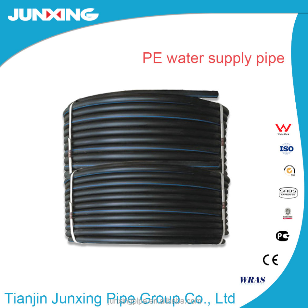 black water supply pe pipe In Rolls